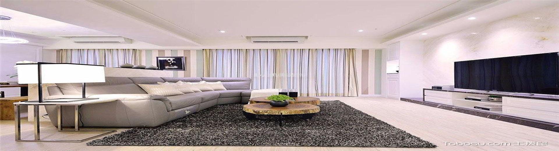 80平米二居室簡約風格新房裝修效果圖