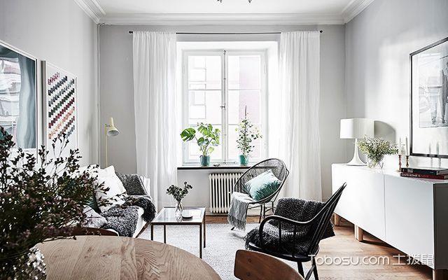 55平米小户型北欧装修图客厅