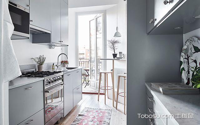 55平米小户型北欧装修图厨房