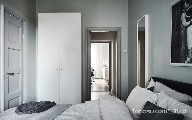 55平米小户型北欧装修图卧室