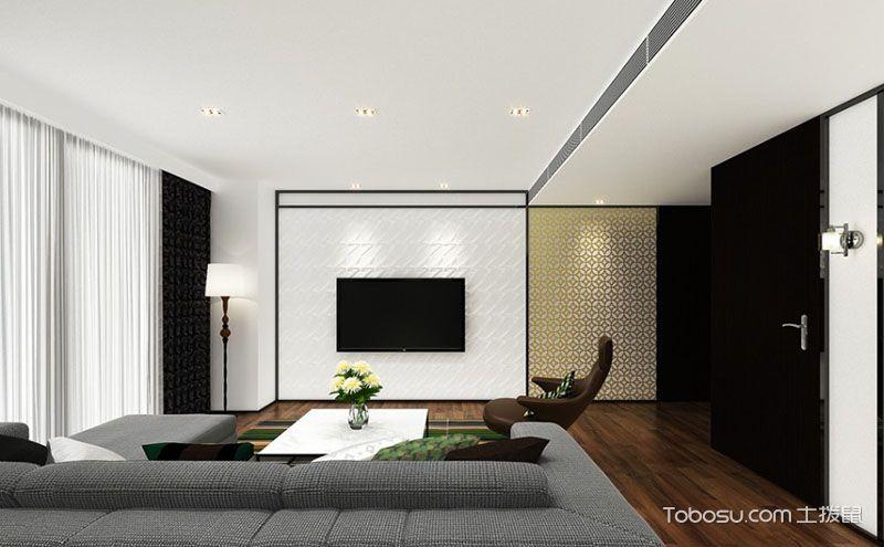 2017最新电视墙设计案例,承载了高雅格调与氛围