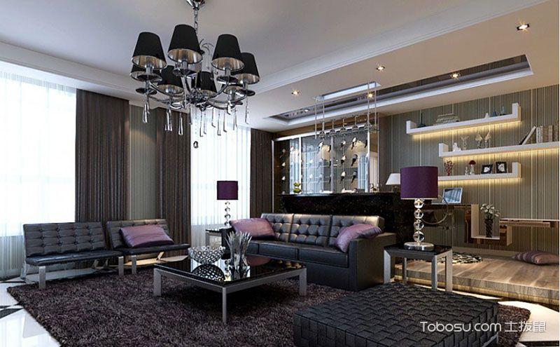 唯美现代简约90平米两室两厅装修图鉴赏