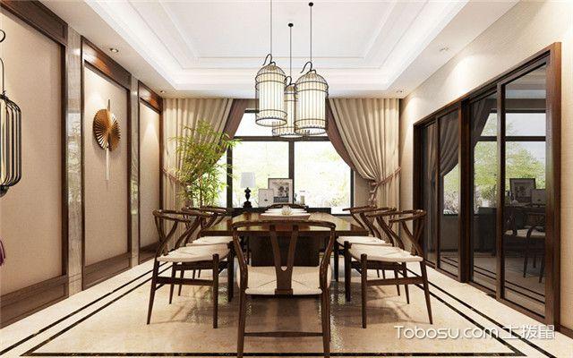 中式家具搭配什么样窗帘