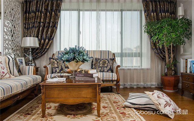 客厅窗帘效果图赏析