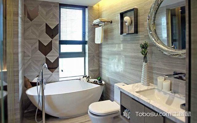 卫生间装修风水禁忌三:卫生间镜子不宜多