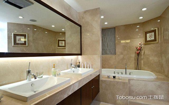 卫生间装修风水禁忌四:卫生间地面不可高过其他地面