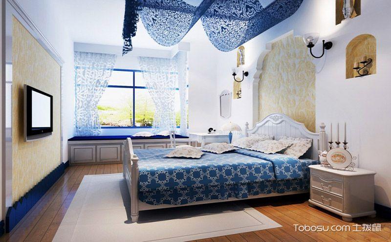 最新卧室飘窗设计效果图