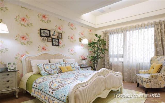 田园风格20平米卧室装修效果图