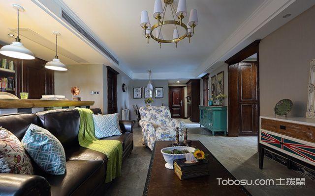 客厅吊灯尺寸怎么选择——受客厅面积的影响