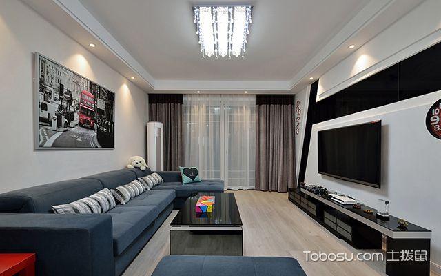 客厅吊灯尺寸怎么选择——受客厅层高的影响