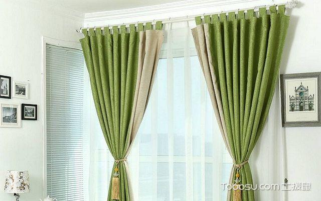 罗马杆窗帘怎么安装定位