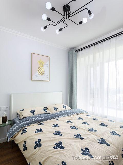120平北欧风格三室两厅案例儿童房