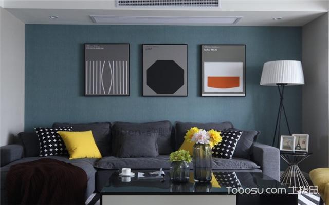 现代简约客厅沙发装饰画