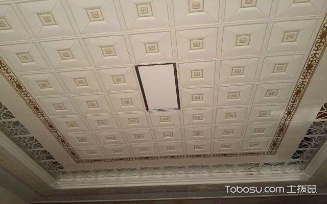 铝扣板怎么吊顶打孔
