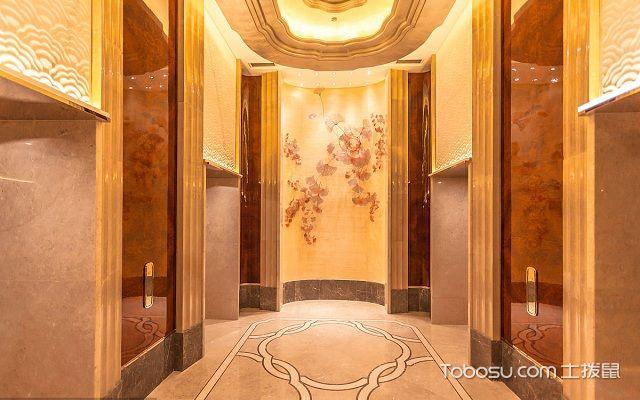 门厅过道地面怎么装彩色
