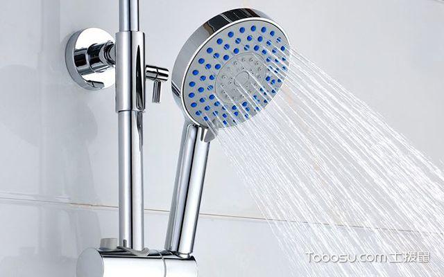 花洒淋浴喷头怎么安装图3