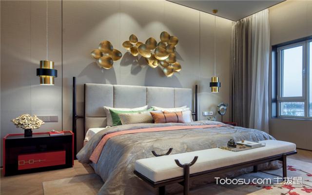 中式风格卧室软装搭配