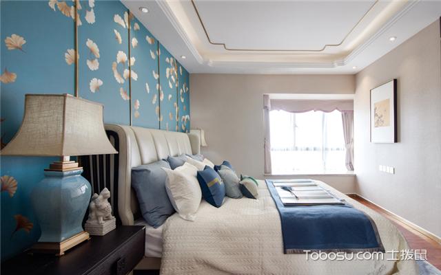 中式风格卧室软装