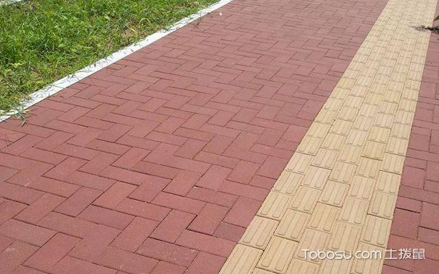 透水砖铺装施工方法图一