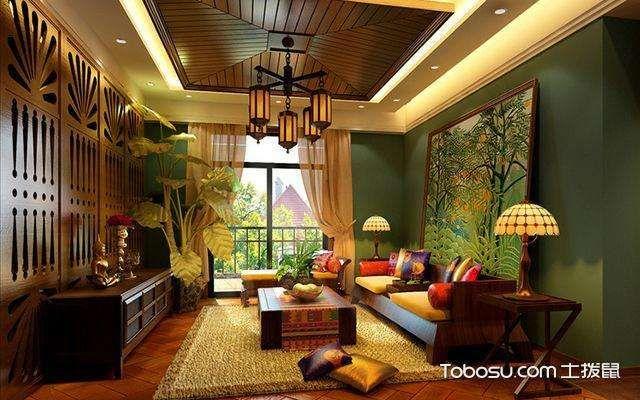 东南亚装修风格,中式装修风格
