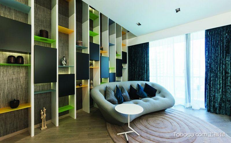 80平米精装房设计案例,喧嚣的城市里放松自己
