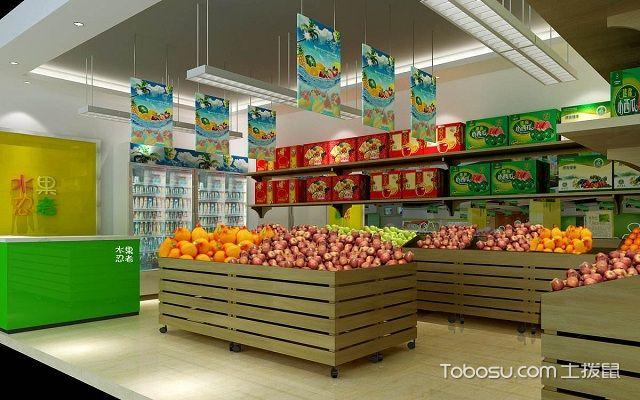 小型水果店装修与摆设设计