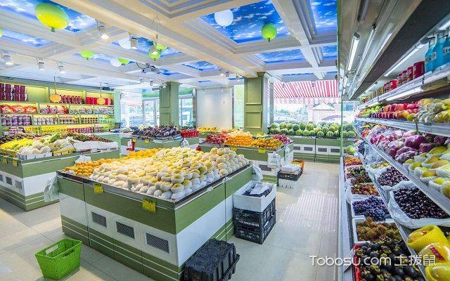 小型水果店装修与摆设色彩