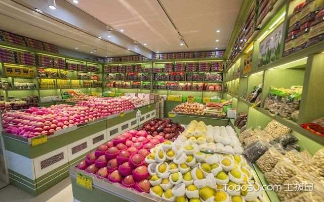 小型水果店装修与摆设搭配