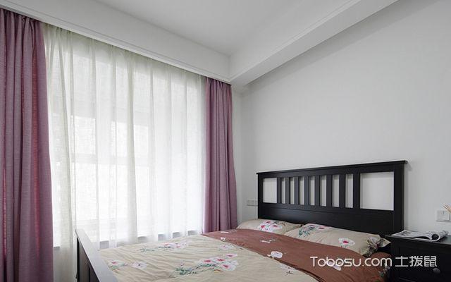 南京简约北欧三居装修图父母房