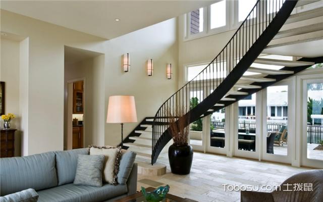 110小户型跃层楼梯
