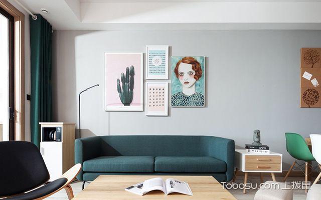 客厅画尺寸图4