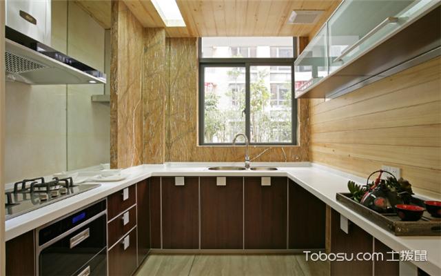 开放式厨房装修技巧