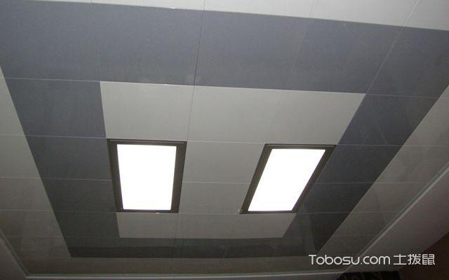 铝扣板吊顶灯具安装图3