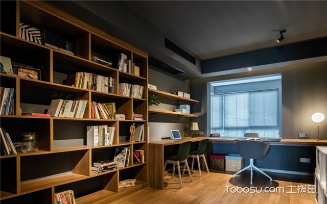 书房家具摆放技巧介绍