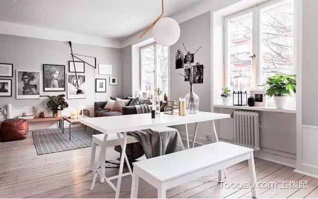 北欧风格家庭装修,注意