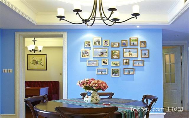 家居照片墙设计案例