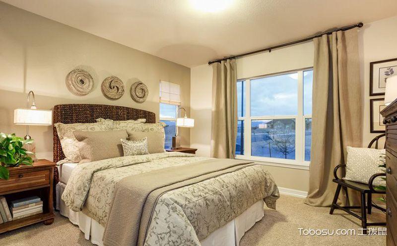 2017年最流行的美式卧室装修设计图图片
