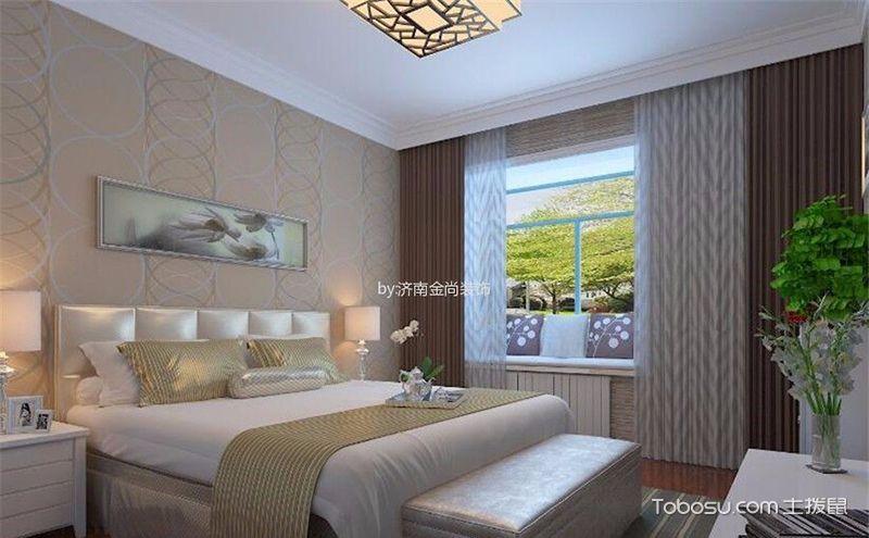 欧式风格卧室飘窗装修效果图,透过窗户看世界