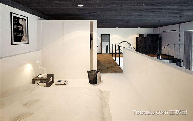 北京loft户型装修案例