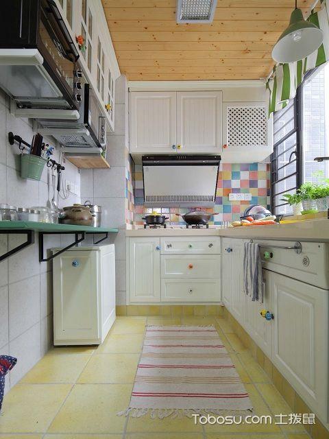 1米宽小阳台改厨房图彩色