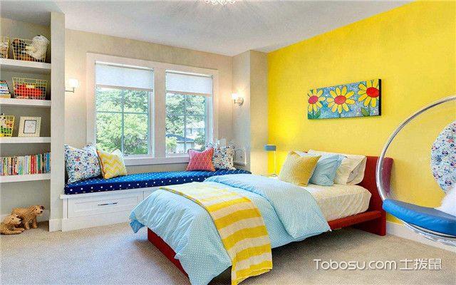 主卧墙漆颜色选择