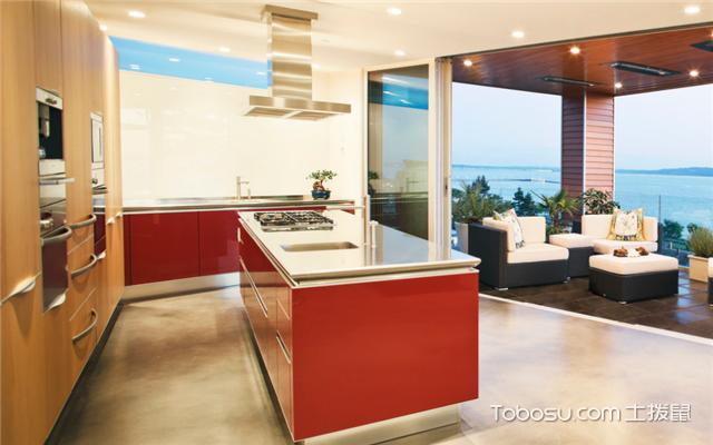 厨房和生活阳台打通
