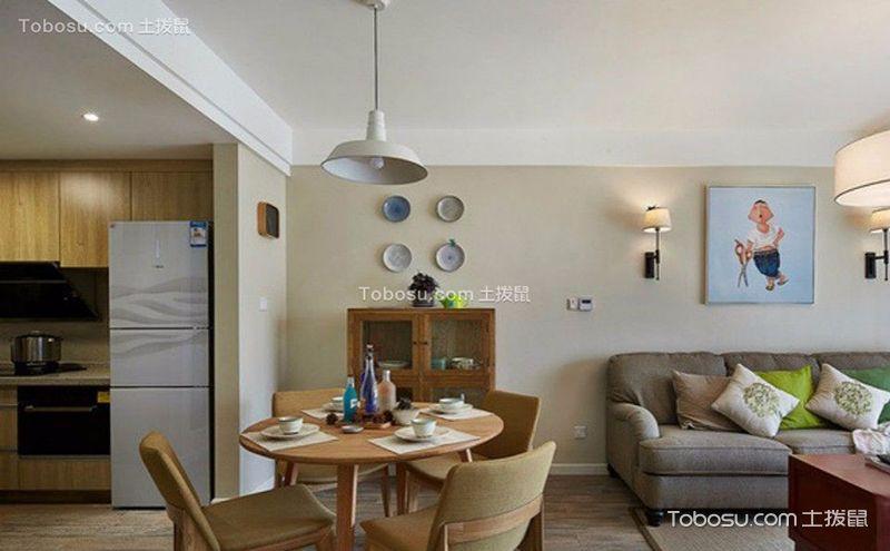 一室一厅装修效果图图片,小的空间里的大世界