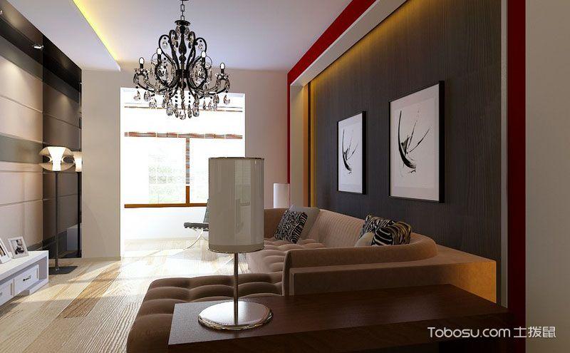 时尚100平米两居室装修