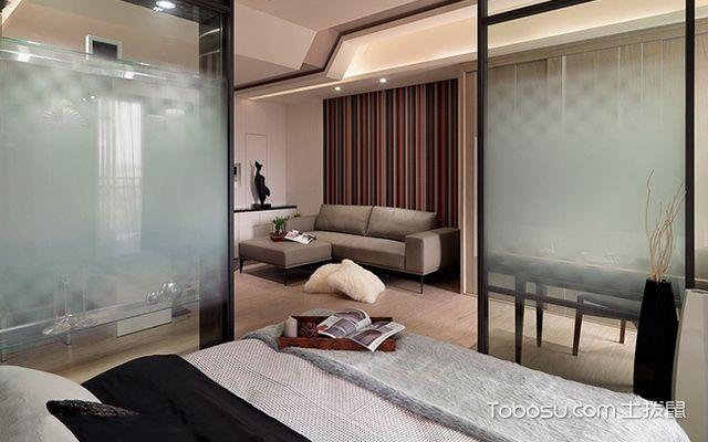 45平米二房一厅装修图卧室