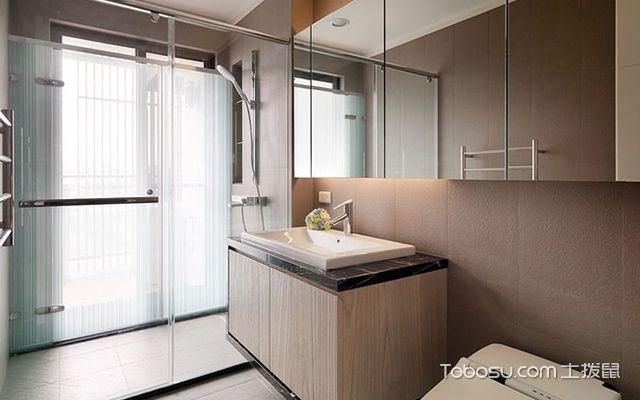 45平米二房一厅装修图卫生间