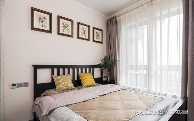 95平米三室两厅装修—次卧