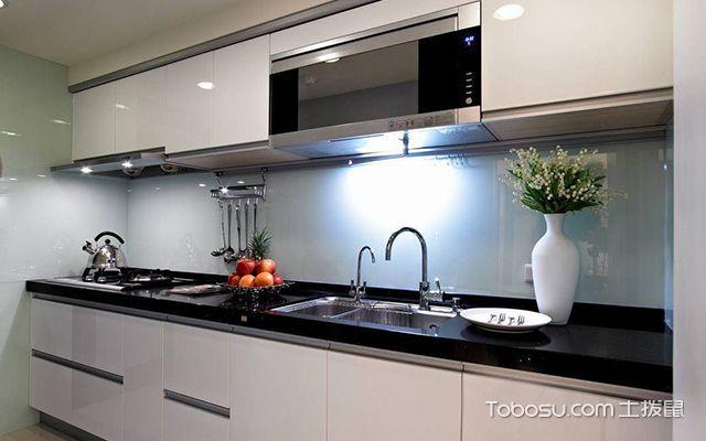60平米二房一厅装修案例图厨房