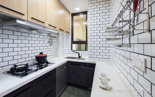 100平方三房两厅装修图厨房