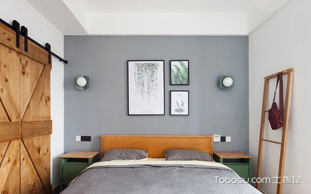 100平方三房两厅装修图卧室